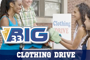 Big 33 Clothing Drive