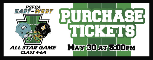 Purchase tickets to PSFCA East/West Large School Game