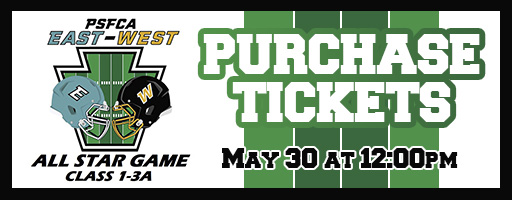 Purchase tickets to PSFCA East/West Small School Game